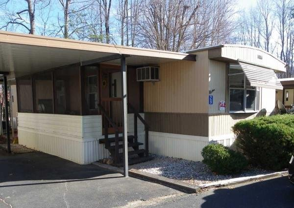 senior retirement living 1983 mobile home for sale in  manufactured home communities asheville nc
