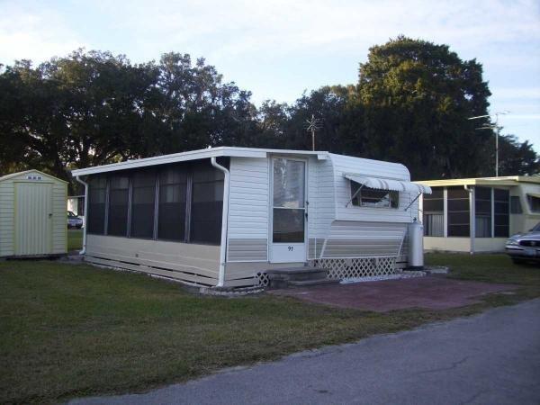 Senior retirement living park model mobile home for sale for Florida room addition