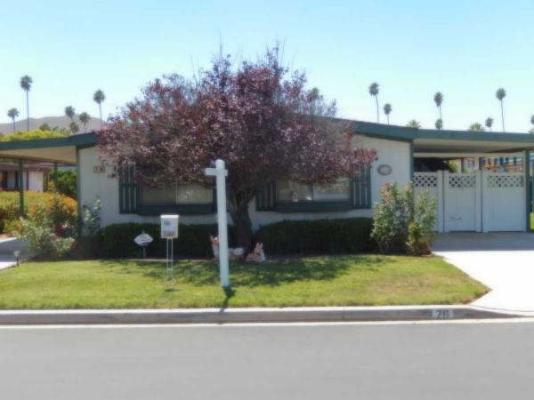 1982 Golden West Manufactured Home