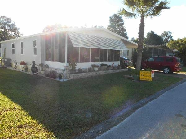 Senior retirement living 1979 rama mobile home for sale for Sheds in brooksville fl