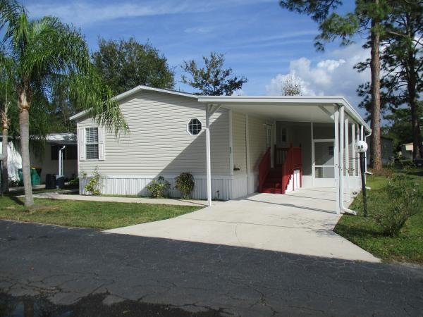 senior retirement living 2006 fleetwood manufactured home for sale in melbourne fl