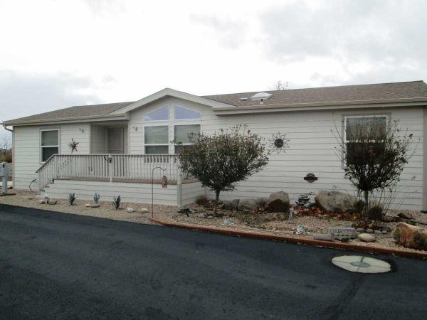senior retirement living 2007 laurel creek doublewide mobile home for sale in dewey az