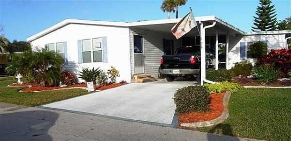 Senior Retirement Living 1992 Palm Manufactured Home For