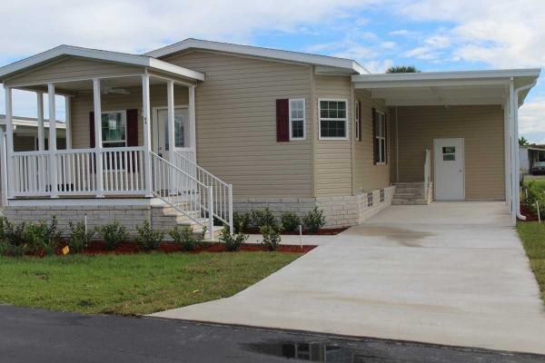 Senior Retirement Living 2016 Skyline Palm Bay Home Manufactured Home For Sale In Fort Pierce Fl