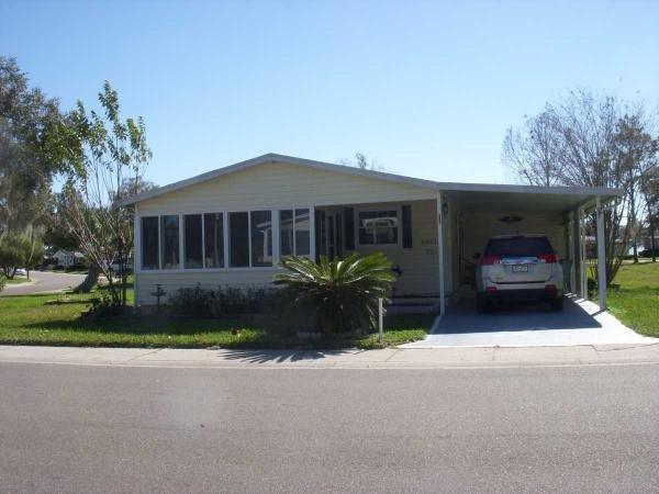Senior Retirement Living 1989 Fleetwood Mobile Home For