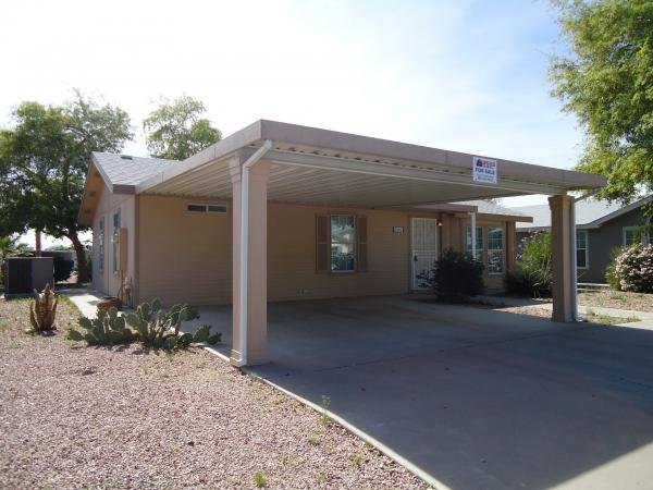 Senior Retirement Living 2000 Cavco Adobe Mobile Home