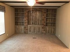 Second living area with builtin