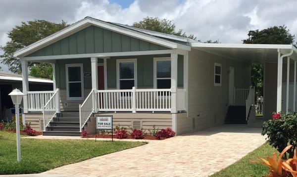 Mobile Home at 6047 Palm Harbour Dr., Lantana, FL