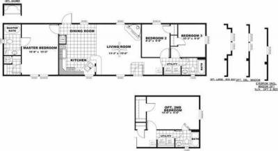 Mobile Home at 3455 W. Service Rd Evans, CO 80620