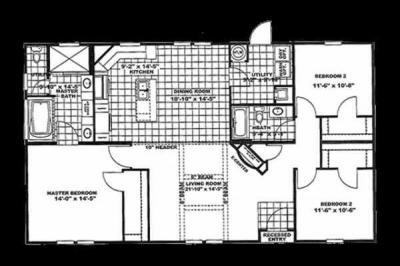 Mobile Home at 1395 LEE HIGHWAY SPO BOX 7310 Roanoke, VA