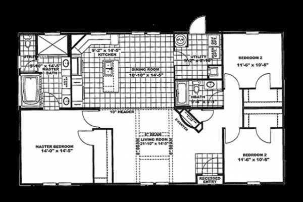 Mobile Home at 590 E OAK AVE, Como, MS