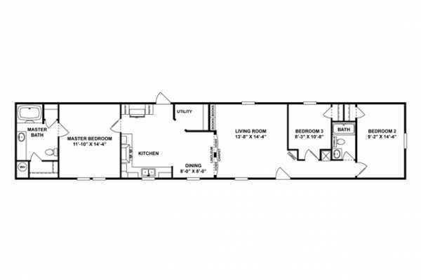 Mobile Home at 127 SCOTT RIDGE ROAD, Beaver, WV