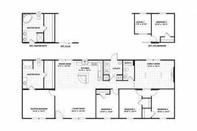 Mobile Home at 115 Pine Hill Cirle Spartanburg, SC 29306