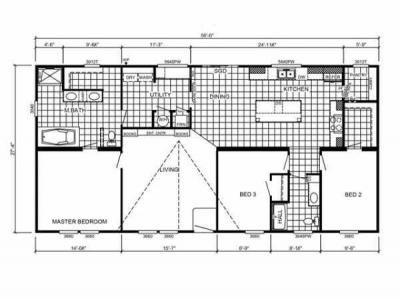 Mobile Home at 195 Madison St Freeport, FL 32439