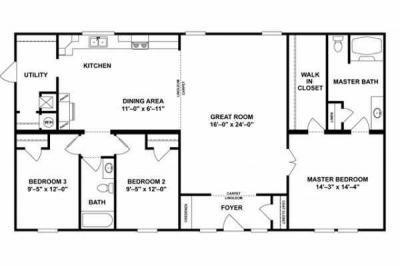 Mobile Home at 1123 SMOKEY PARK HIGHWAYPO BOX 879 Candler, NC