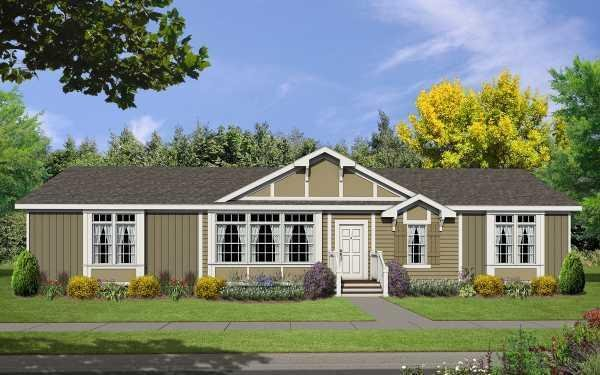 Champion Homes Avalanche 4663K Mobile Home Model in undefined