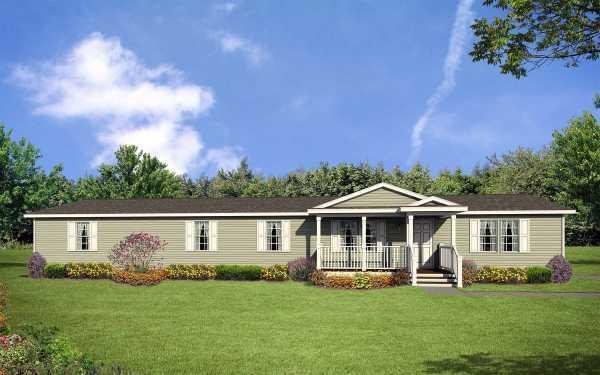 Fortune Homes Gold Star 2880 201 Mobile Home Model in undefined