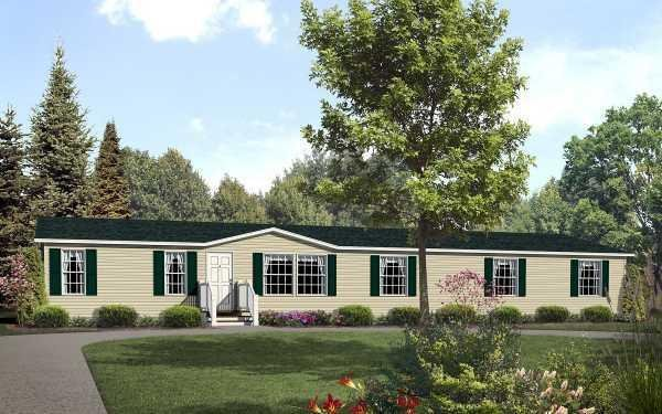 Fortune Homes Gold Star 3280 201 Mobile Home Model in undefined