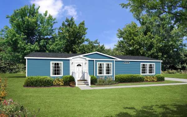Redman Homes New Moon A-46026 Mobile Home Model in undefined