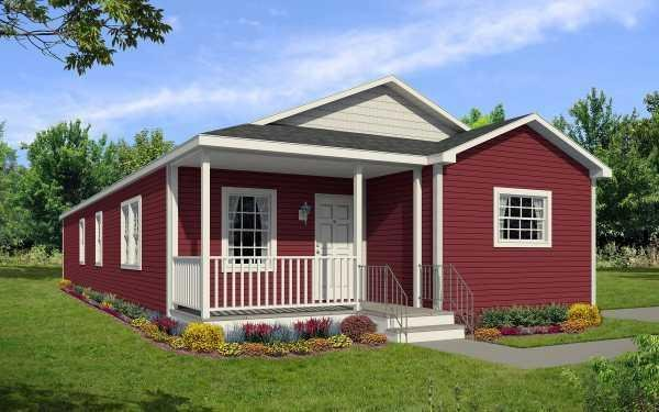 Redman Homes New Moon A-76453 Mobile Home Model in undefined