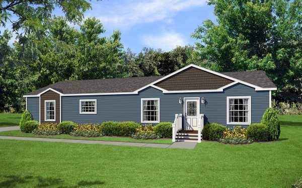 Redman Homes New Moon A-76050 Mobile Home Model in undefined