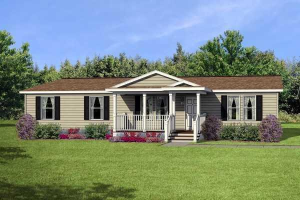 Champion Homes Sunrise 3252 Mobile Home Model in undefined