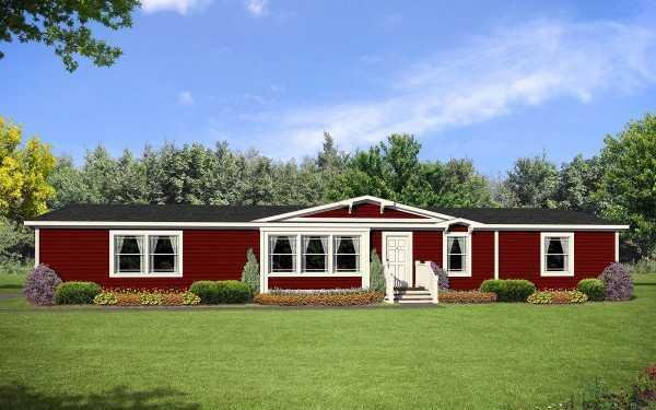 Highland Manufacturing Prairie View 2876-1 Mobile Home Model in undefined