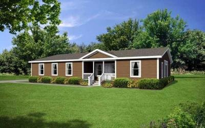 Redman Homes Creekside Manor 7604B Mobile Home Model in undefined