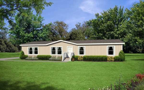 Redman Homes Creekside Manor 4663A Mobile Home Model in undefined