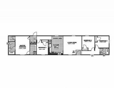 Mobile Home at 590 E Oak Ave Como, MS 38619