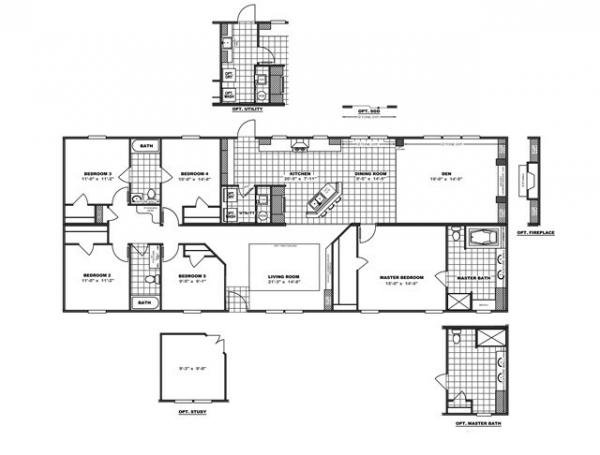 Mobile Home at 3644 CHATSWORTH HWY, Dalton, GA