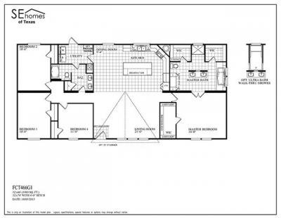 Mobile Home at 1103 HWY 90 Liberty, TX 77575