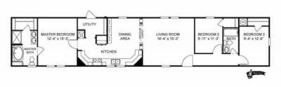 Mobile Home at 13653 Airline Highway Gonzales, LA 70737
