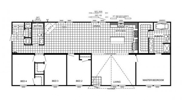 Mobile Home at 4027 NORTHWEST EVANGELINE THRUWAY, Carencro, LA
