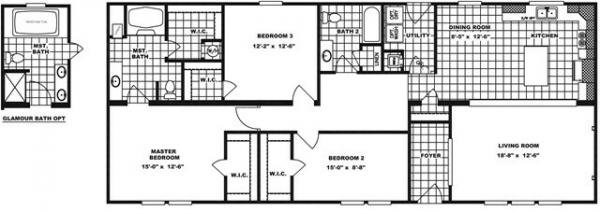 Mobile Home at 3802 HIGHWAY 72 WEST, Corinth, MS