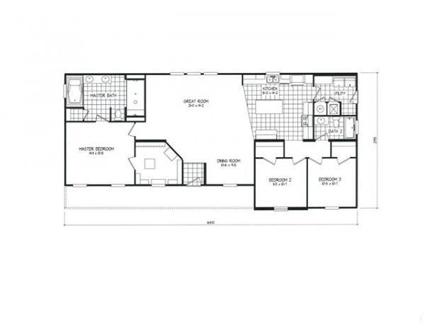 Mobile Home at 828 PIEDMONT DRIVE, Lexington, NC
