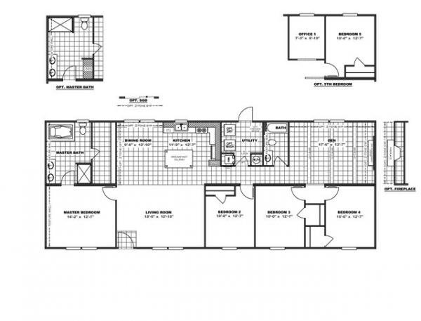 Mobile Home at 5501 RINGGOLD ROAD, East Ridge, TN