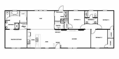 Mobile Home at 3590 BROAD STREET Sumter, SC 29150