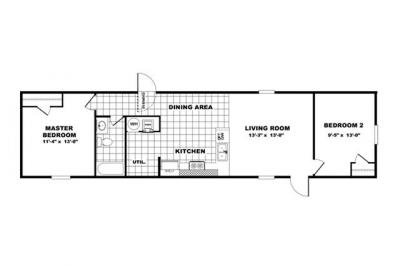 Mobile Home at 250 South Grand Ave Las Vegas, NM 87701