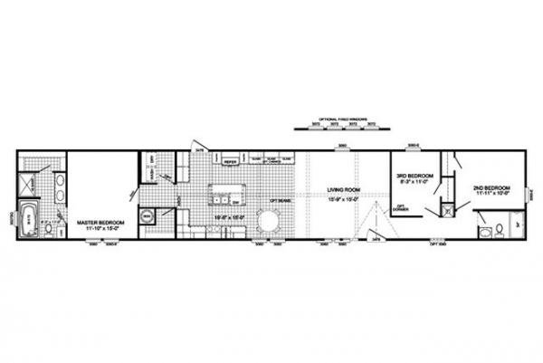 Mobile Home at 216 HWY 98 EAST, Mccomb, MS