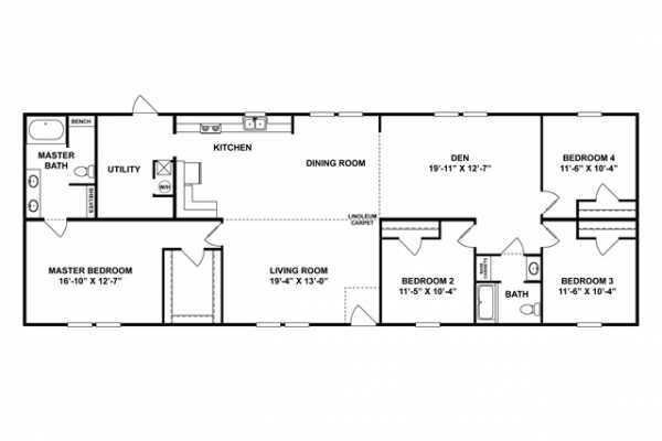Mobile Home at 3820 SOUTH MAIN STREET, Harrisonburg, VA