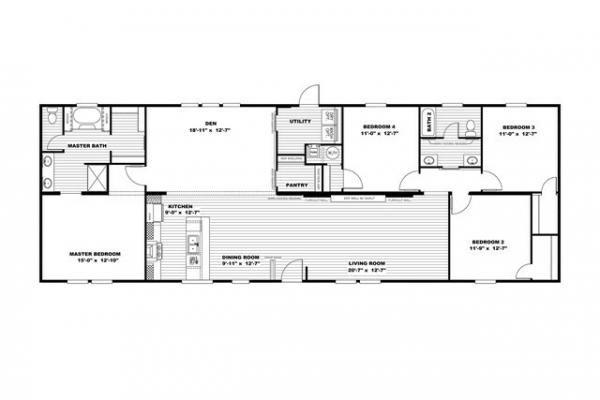 Mobile Home at 12195 ELK RIDGE WC 310, Wesley, AR