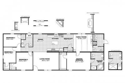 Mobile Home at 2354 Jeffries Blvd Walterboro, SC 29488