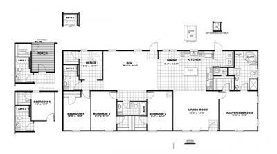 Mobile Home at LOT 40 TIMBER RIDGE Jesup, GA 31545