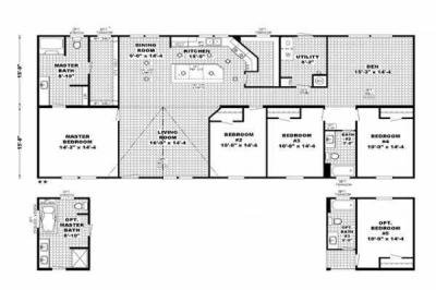 Mobile Home at 981 GERSTNER MEMORIAL BLVD Lake Charles, LA 70601