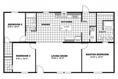 Mobile Home at 53090 County Road 21 Carr, CO 80612
