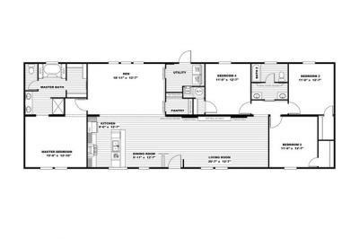 Mobile Home at 269 BROADRIDGE RD Orrum, NC 28369