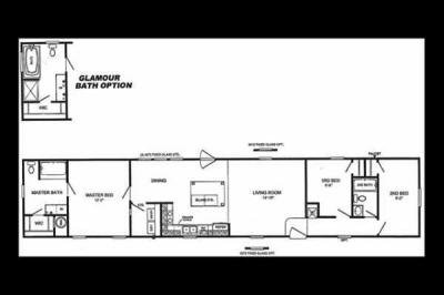 Mobile Home at 1044 N Andy Griffith Parkway Mount Airy, NC 27030