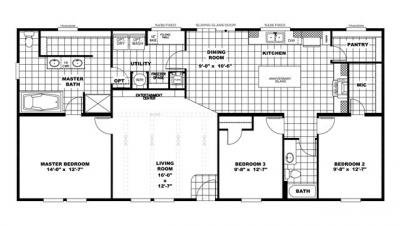 Mobile Home at Lot 12 Eagle Ridge Diana, TX 75640