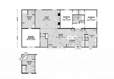 Mobile Home at 3655 Junction City Hwy El Dorado, AR 71730
